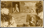 97 Mattison Road 1911 Christmas Card