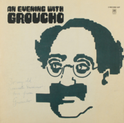 Groucho Marx inscribed album to brother Gummo