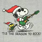 Snoopy guitar  Christmas