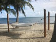 Beach day at Chabil Mar Resort Belize