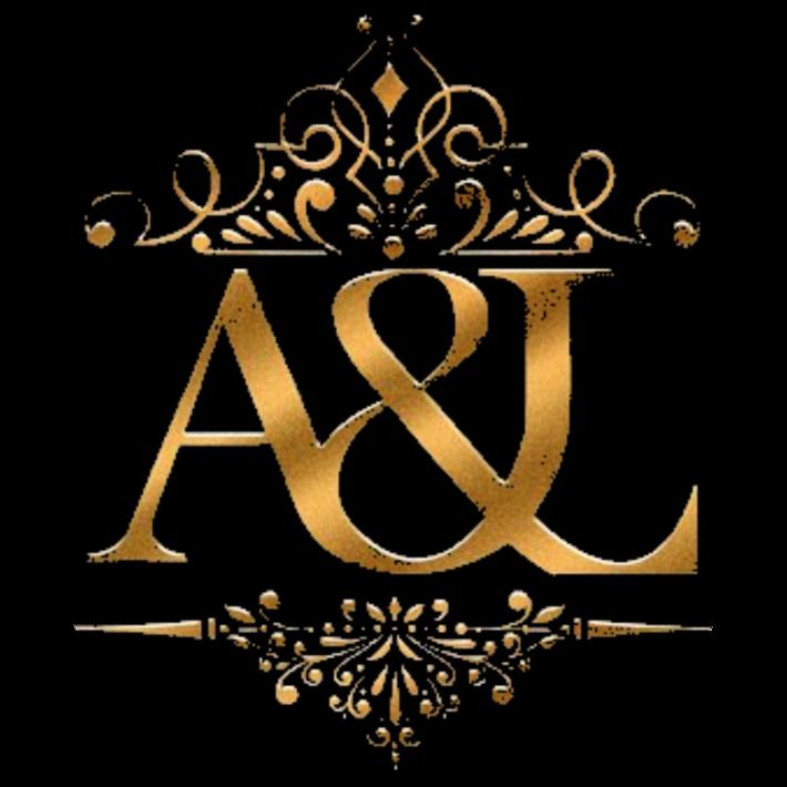 logo arts et lettres noir et or