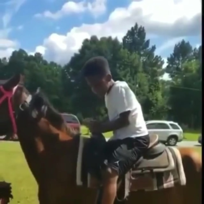 Old town road gone wrong