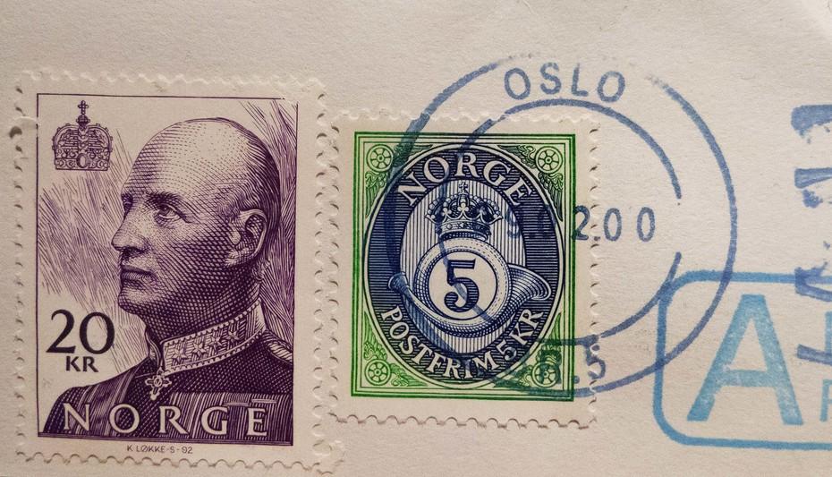 (U)vanlig Oslo stempel...