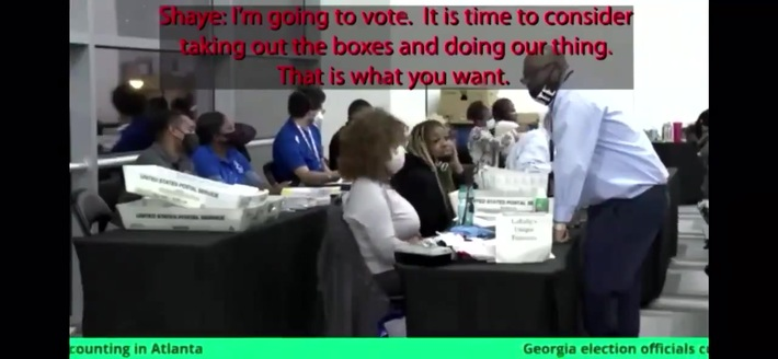 Election Officials caught cheating