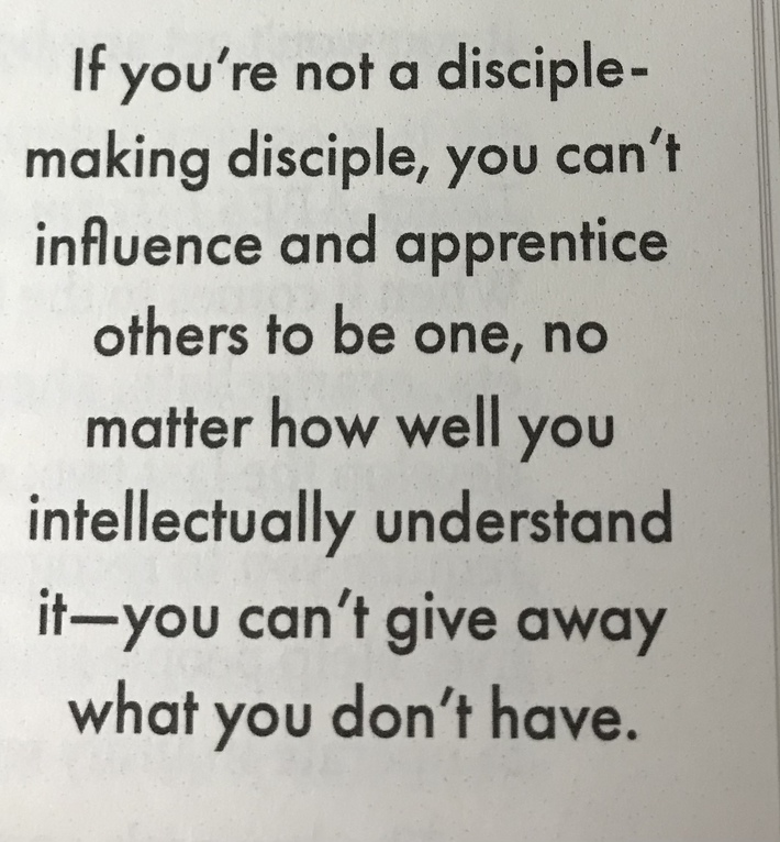 """#ReimagineDISCIPLESHIP...from """"in The Way"""" by Gerke"""