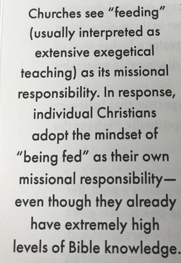 "#ReimagineDISCIPLESHIP...from ""in The Way"" by Gerke"