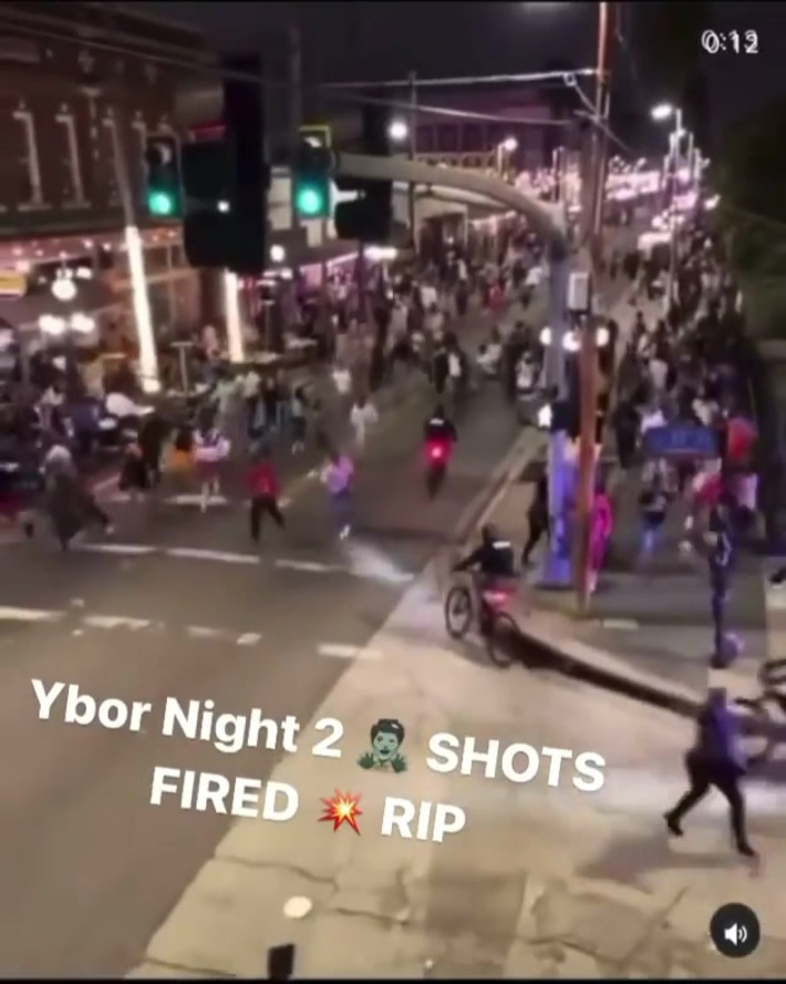Shots fired at Ybor in Tampa