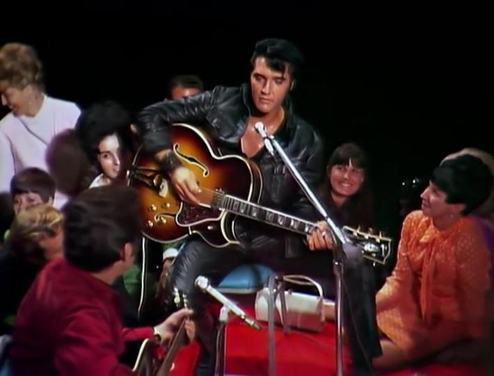 Elvis & Lisa-Marie sa fille