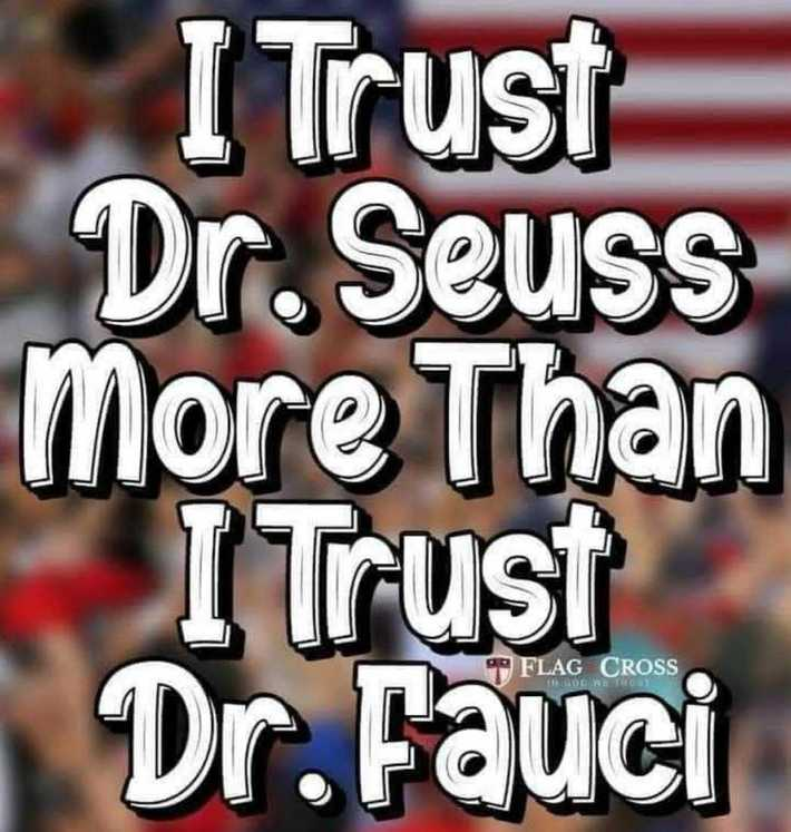 Just sayin,Dr. Fauci is a typical talmudic jew lying low life turd