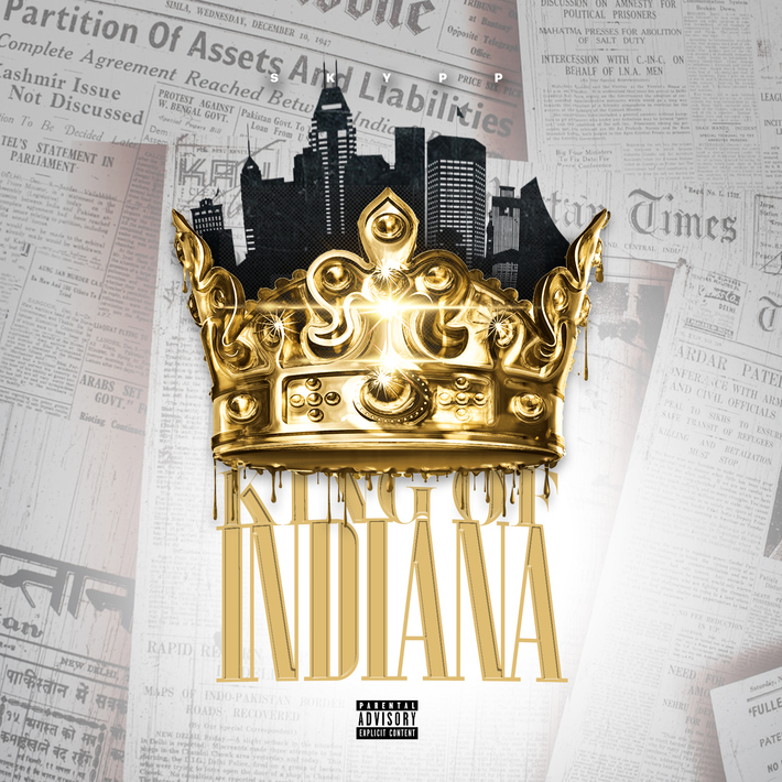 """Indianapolis Rapper Skypp Takes His Throne as the """"King of Indiana"""" With New Album Featuring Rhymefest"""