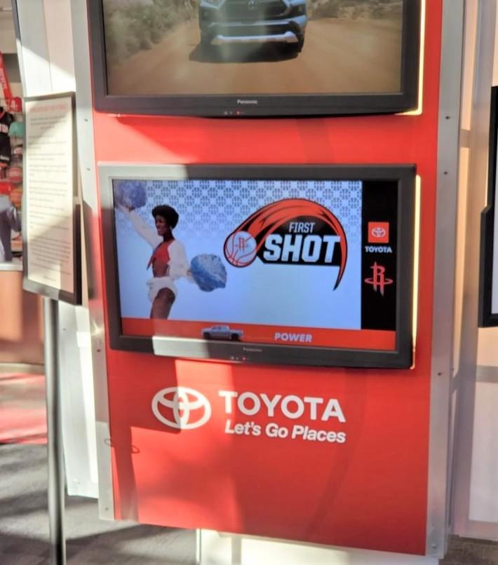 Joyce's FIRST SHOT - Houston Rockets -vs- Brooklyn Nets 3-3-2021