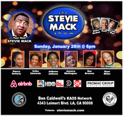 The Stevie Mack Show - Talent Showcase and Networking Mixer