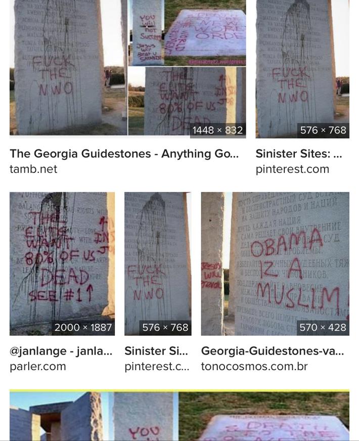 Georgia Guidestones.