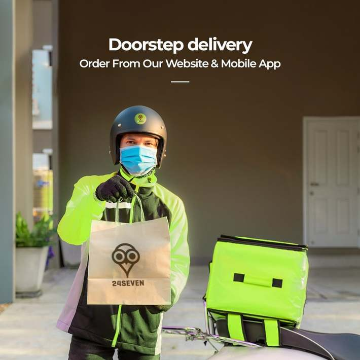 24SEVEN-Home delivery grocery items near me