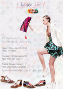 Adiree and Pikolinos Host Luxury African Fashion Pop-up Shop