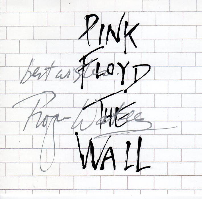 Roger Waters Signed Pink Floyd The Wall CD
