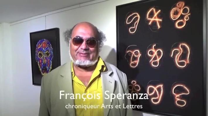 Interview de François Speranza, historien d'art, chroniqueur arts plastiques sur Arts et Lettres