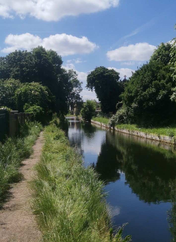 Reopened New River Path