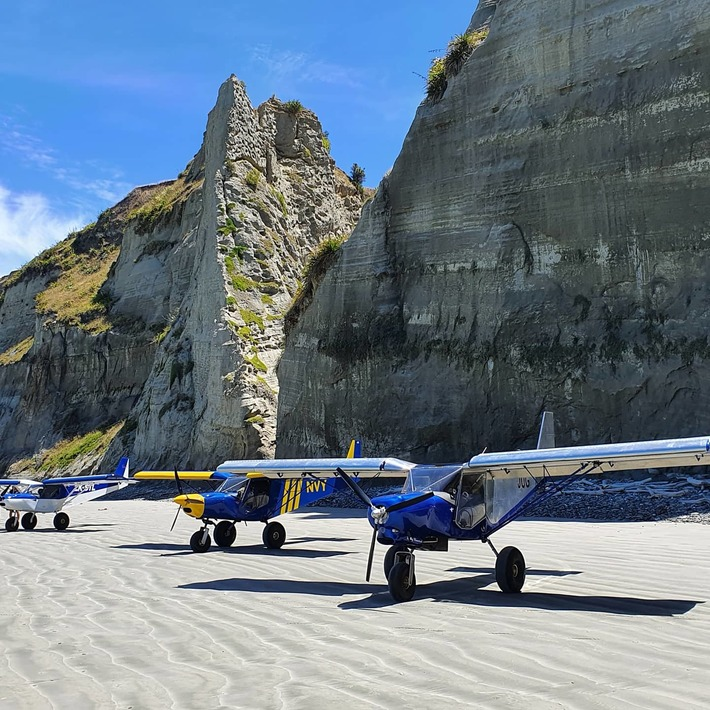 Zenith STOL Sky Jeeps in New Zealand