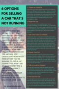 6 Option For Selling a Car That`s Not Running