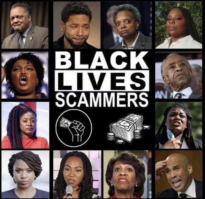 Black Lives Scammers