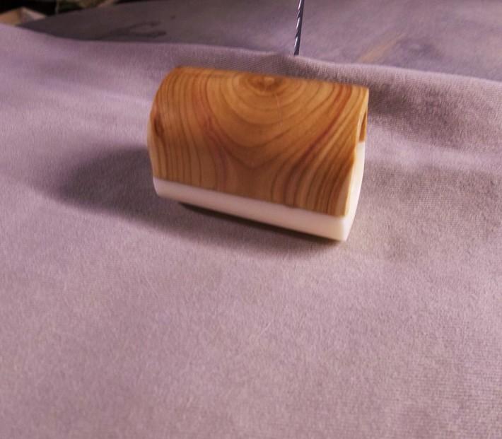 Maine Lilac stubby - end grain