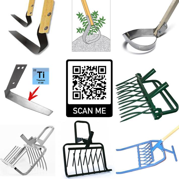 Permaculture garden tools