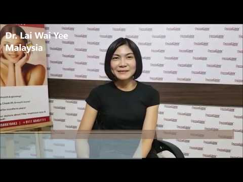 Hair Transplant Training Video Testimonial by Malaysian Dermatologist at DermaClinix New Delhi INDIA