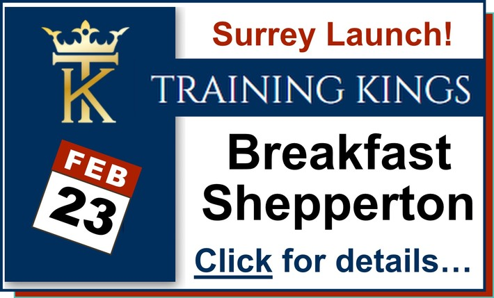 Come and try out our first Surrey networking breakfast - everybody is welcome as long as you are serious about becoming more successful!