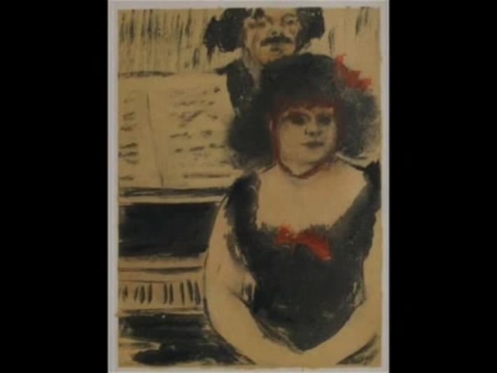 Degas - gravures  monotypes