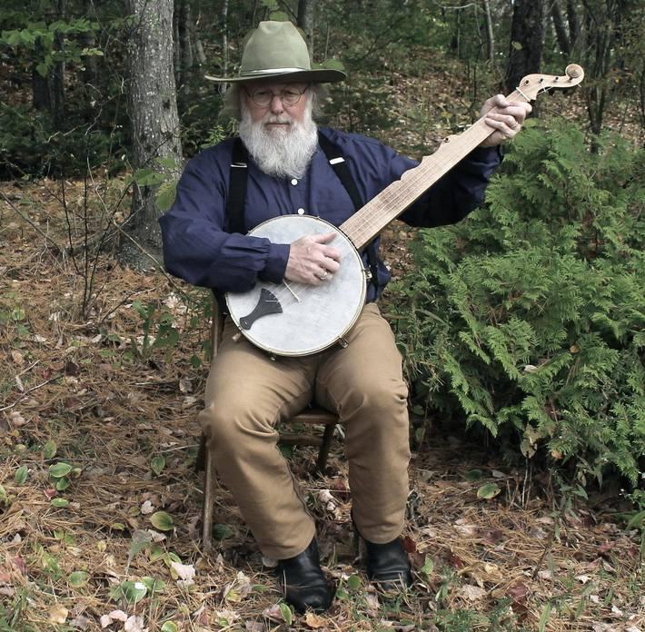 My Boucher fretless banjo