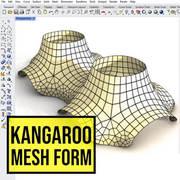 Kangaroo Mesh Pavilion