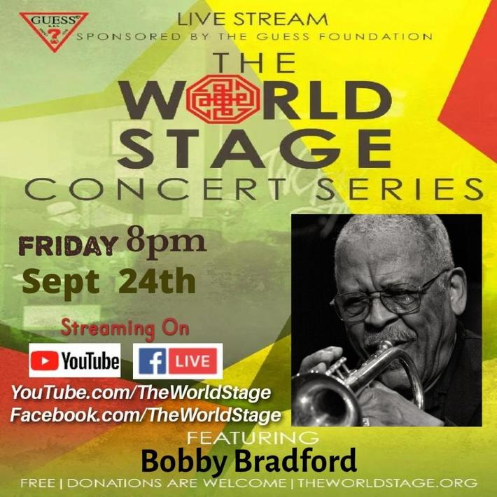 """BOBBY BRADFORD Presents: """"Stealin' Home - A Jackie Robinson Dedicated Suite"""" 8PM PT *updatez*"""