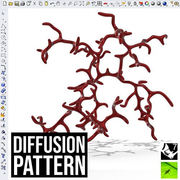 Diffusion 3D Pattern
