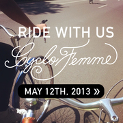 Cyclofemme Mother's Day Ride