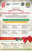 Drop Offs... Slow & Good: Holiday Toy & Coat Drive