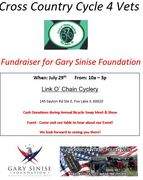Link O'Chain Cyclery to Support Cross Country Cycle 4 Vets