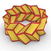 Rotated Chevron Pattern
