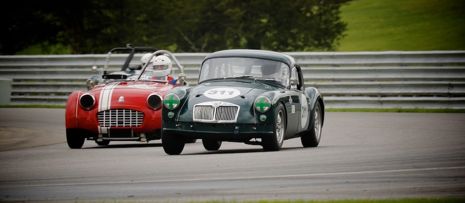 Two of Great Britain's iconic marques in West Bend